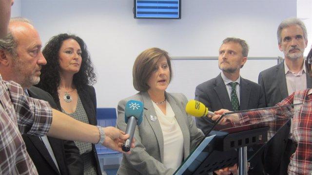 La consejera de Salud de la Junta de Andalucía, María José Sánchez Rubio.