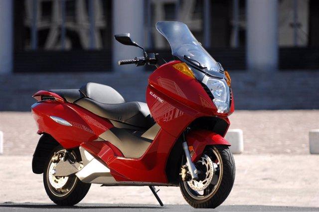 Moto eléctrica Vectrix