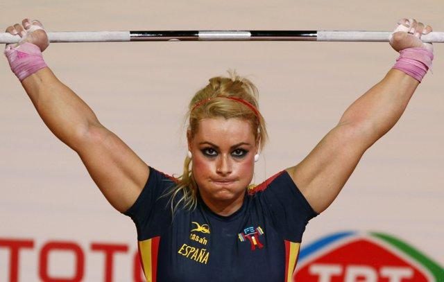Lidia Valentin, bronce mundialista en Varsovia
