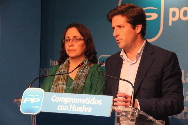 Guillermo García Longoria, y Rosa Caballero.