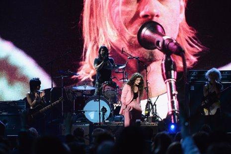 Nirvana y Lorde en la 29 edición del Rock Hall of Fame