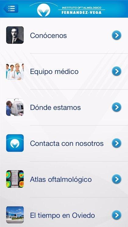 El Instituto Oftalmológico Fernández-Vega lanza su nueva aplicación 'EyeVega'