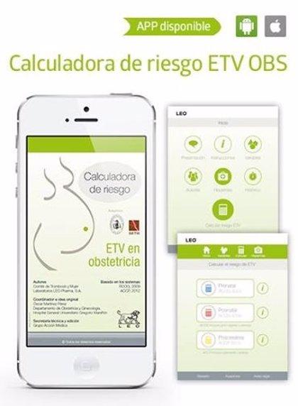 Médicos españoles desarrollan una 'app' que calcula el riesgo de tromboembolismo venoso en embarazadas