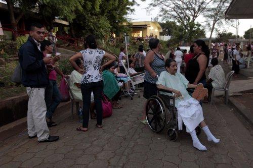Terremoto en Nicaragua 11 de abril 2014