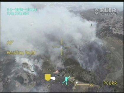 Controlado el incendio de Benifato tras calcinar 55 hectáreas