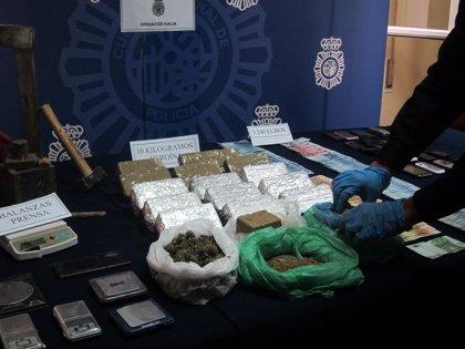 Intervienen 17 kilos de heroína y desarticulan un grupo de narcotraficantes