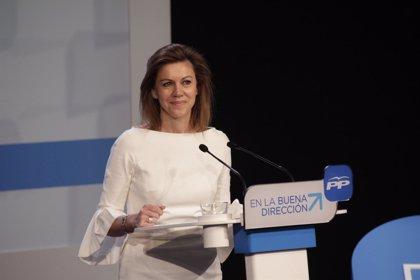 """Cospedal: """"Socialismo, comunismo y nacionalismos son pasado y el presente y futuro de España se escribe con el PP"""""""