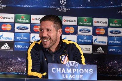 "Simeone: ""Será una eliminatoria pareja"""