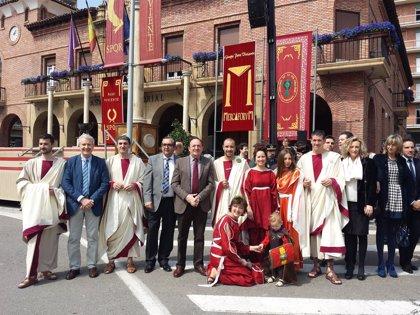 Pedro Sanz participa en la inauguración del Mercado Romano Mercaforum