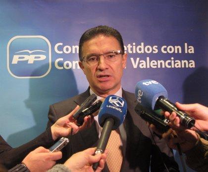 """Castellano dice que el programa del PP será """"un fiel reflejo de los intereses de la Comunitat"""""""