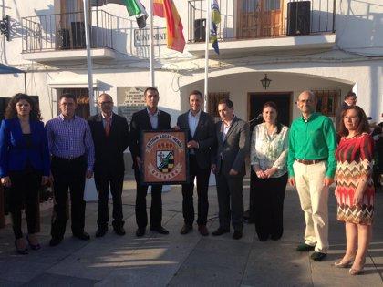 La entidad local menor de Barbaño (Badajoz) adopta nuevo escudo heráldico y bandera