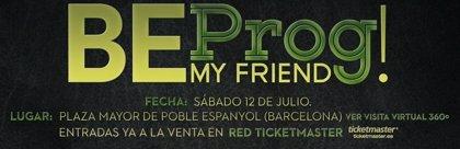 Fish, Anathema y Antimatter estarán en el festival Be Prog! My Friend
