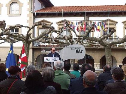"""PNV trabajará para hacer que Euskadi """"sea una nación en Europa"""""""