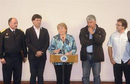 """Bachelet admite que la situación en Valparaíso """"es dramática"""""""