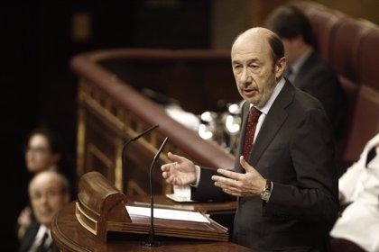 Rubalcaba buscará diálogo en el Congreso tras el 25M