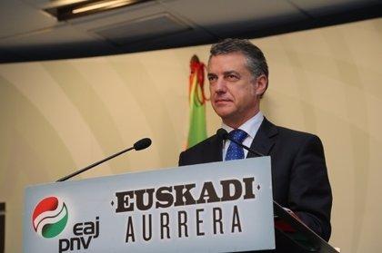 """Urkullu dice que Euskadi no está """"agazapada"""" a la espera de Cataluña sino que intenta lograr un estatus en su Parlamento"""