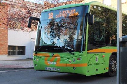 Caen un 7,1% los usuarios del autobús urbano en C-LM
