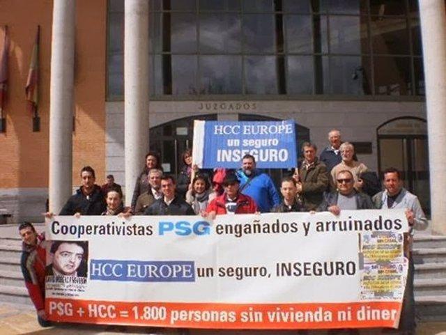 Afectados del PSG en Getafe