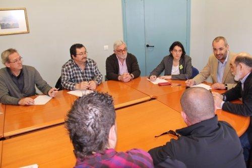 Reunión de la alcaldesa con el SERCA