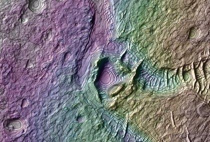 Marte probablemente fue demasiado frío para el agua líquida
