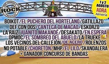 Boikot, Def Con Dos y Canteca de Macao en The Juerga's Rock Festival