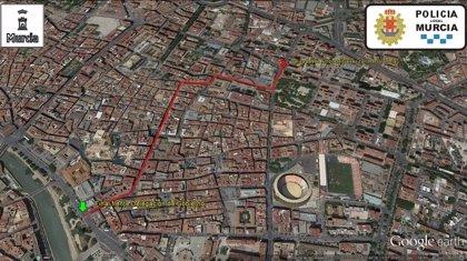 Policía Local prevé que la manifestación de la Marea Tricolor recorra las calles de Murcia a partir de las 16.30 horas