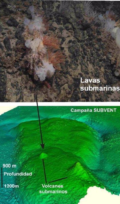 Descubren nuevos volcanes submarinos en Lanzarote