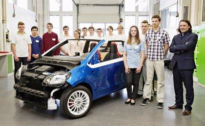 Aprendices de Skoda desarrollan un nuevo coche urbano deportivo