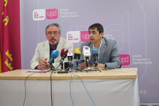 Sotomayor y Serna durante la rueda de prensa