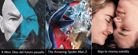 X-Men, The Amazing Spider-Man y Bajo la misma estrella: Nuevo avances