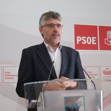 """El PSOE resalta que la vigencia del """"acuerdo estratégico de apoyo"""" de IU a Monago evita una """"crisis de gobierno"""""""