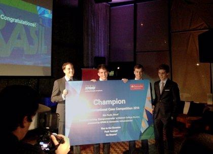 RSC.-El equipo australiano de estudiantes gana el 'KPMG International Case Competition' por segundo año consecutivo