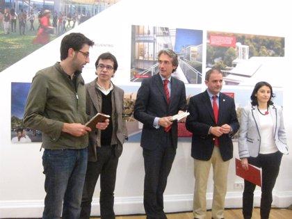 María Pagés, Tony Hadley y Miss Caffeina, en el programa de los Jardines de Pereda