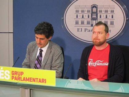 MÉS pide una reforma del reglamento del Parlament para que se dé prioridad a las preguntas de la oposición