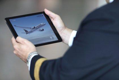 Cerca de 500 pilotos utilizan la nueva 'app' de Qatar Airways para gestionar información antes del vuelo