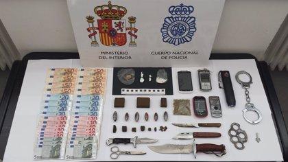 Un matrimonio detenido en Valladolid por tráfico de drogas
