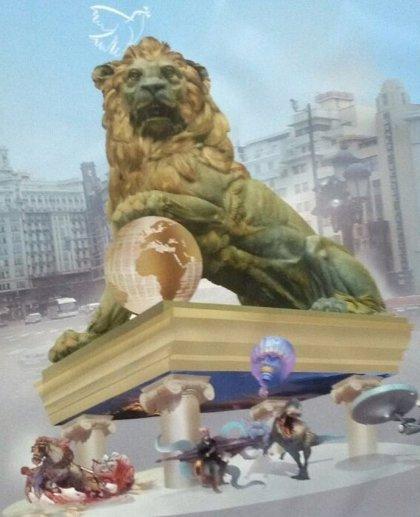 El artista Manolo García repite en 2015 como autor de la falla grande del Ayuntamiento