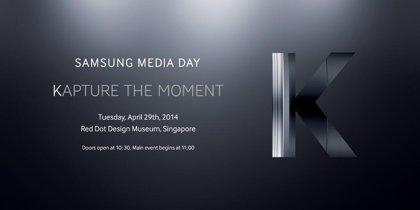 """El Samsung Galaxy K Zoom insinuado en el evento """"Kaptura el momento"""""""