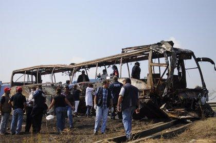 Se salva de morir en el accidente por no tener dinero para el billete del autobus