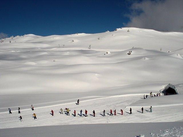 Circuito de esquí de fondo en Candanchú