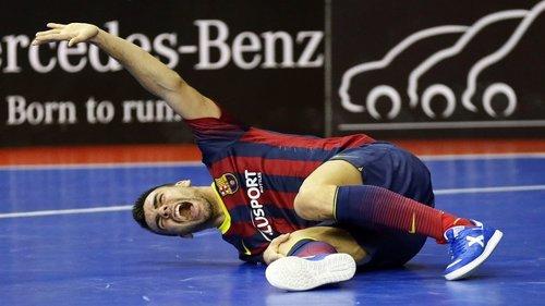 Sergio Lozano FC Barcelona Alusport lesión