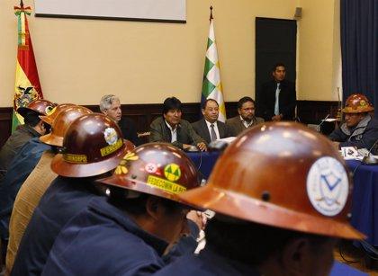 Gobierno y mineros retoman los diálogos en Bolivia