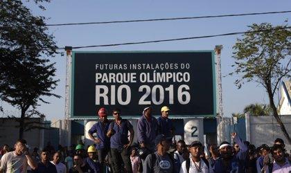 Trabajadores del Parque Olímpico de Río de Janeiro mantienen la huelga