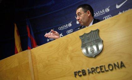 """Bartomeu: """"El Barcelona apuesta por formar jugadores"""""""