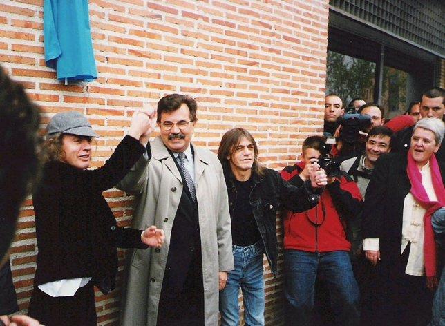 Angus y Malcolm Young en Leganés