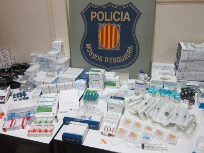 Detenida una pareja en Barcelona por traficar con la hormona del crecimiento que debía tomar su hija