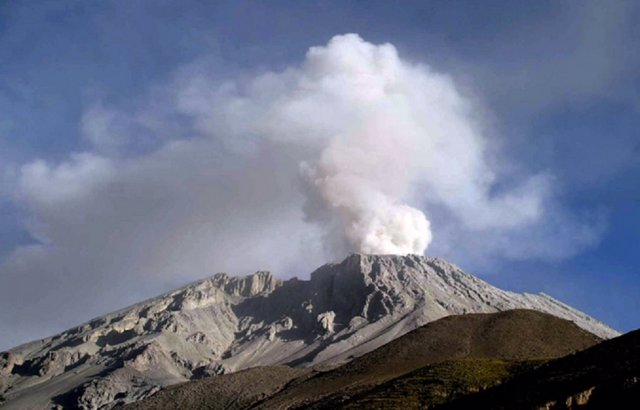Volcán Ubina