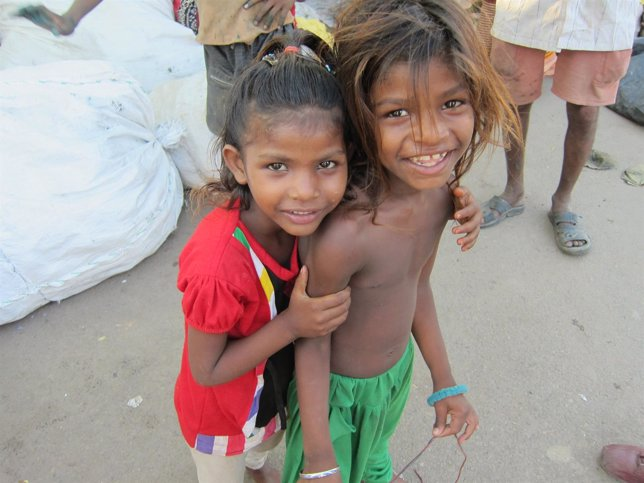 India niños de la calle