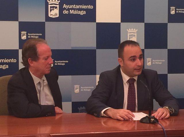 Mario Cortés, portavoz del equipo de gobierno del PP en el Ayto málaga