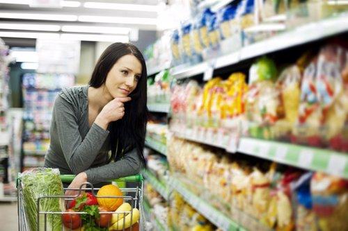 Alimentos no tan saludables ni ligeros, supermercado, comprar
